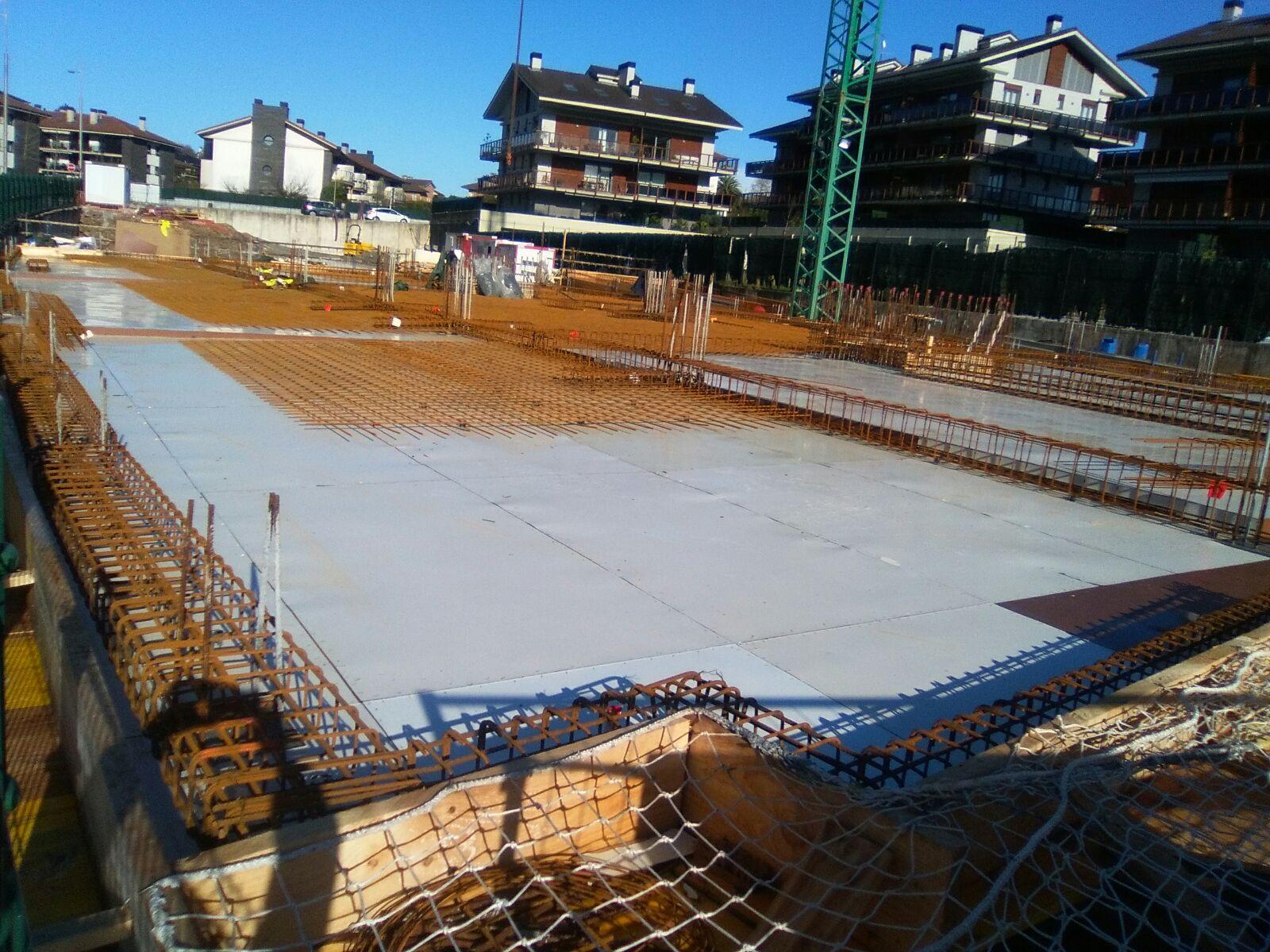 Progreso obra nueva construccion en Hondarribia