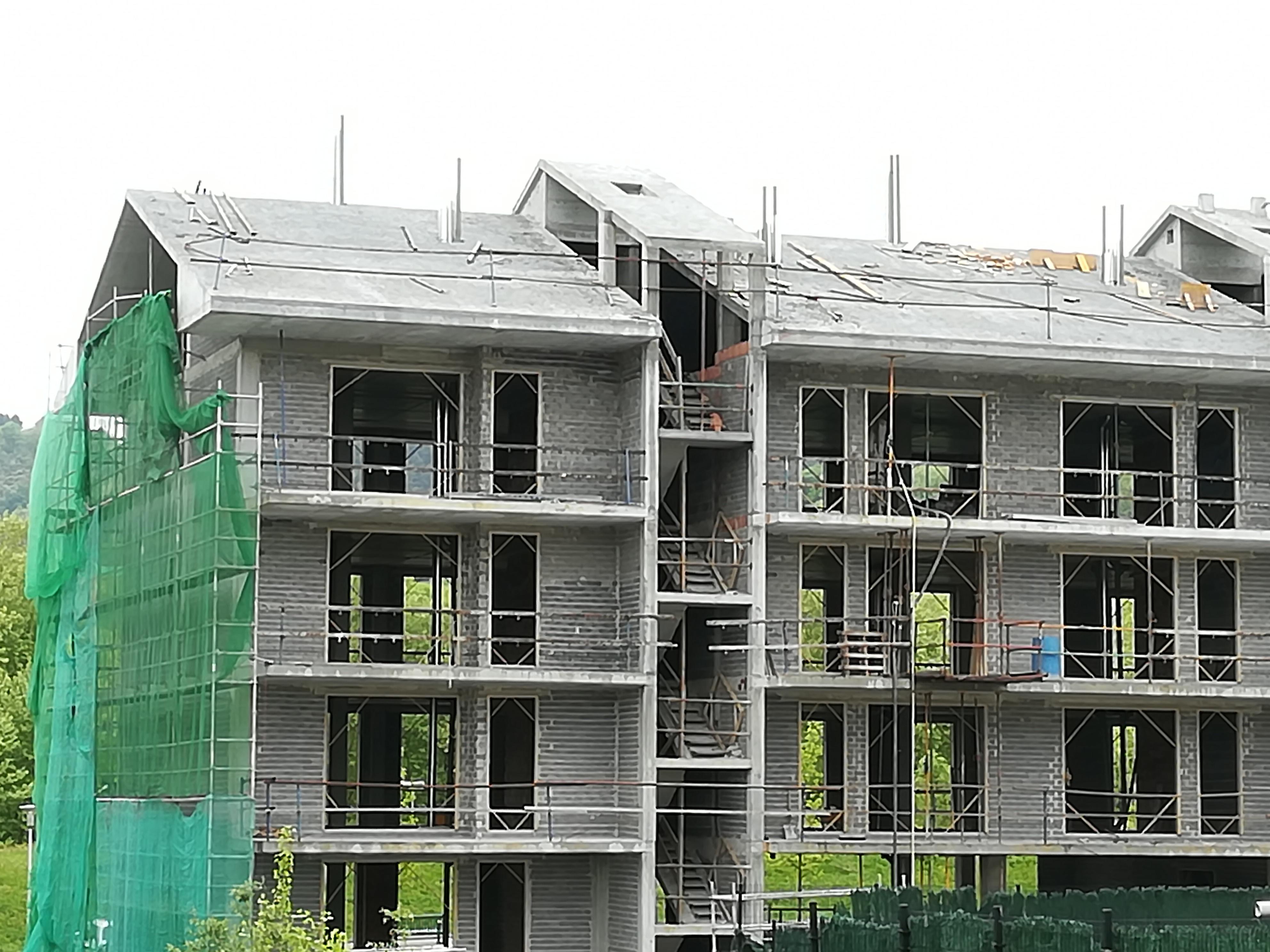 Progreso obras nueva construccion en Hondarribi