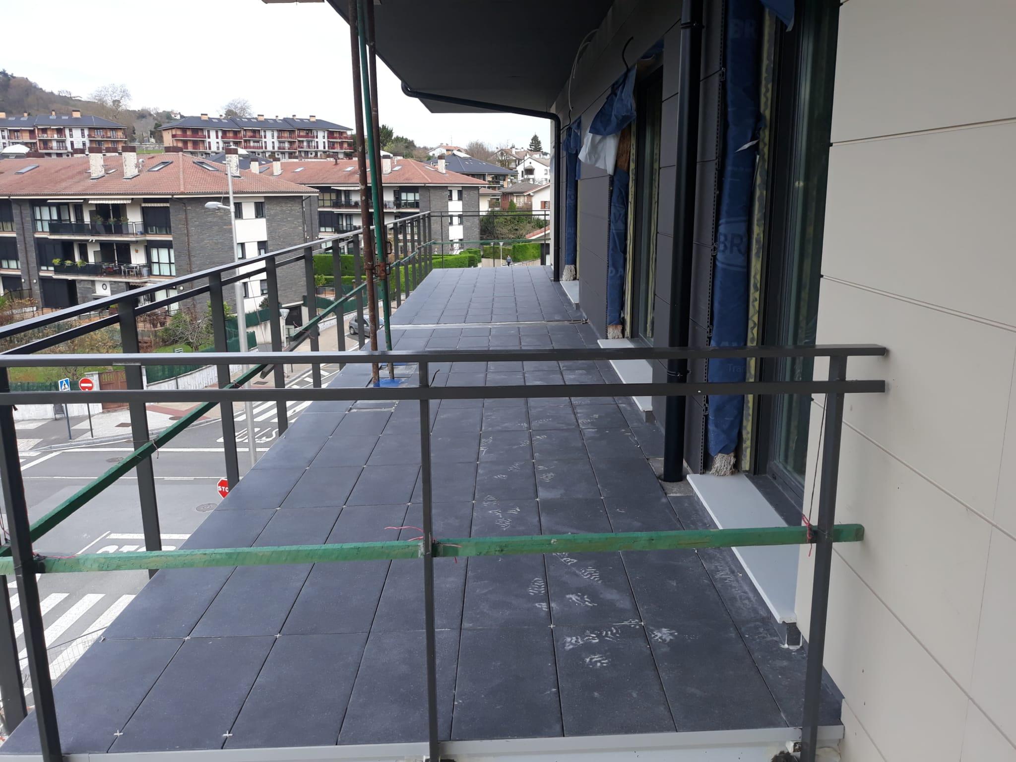 Progreso obras nueva construcción en Hondarribia